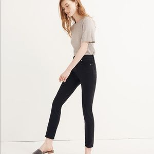 """New Madewell 9"""" Mid-Rise Skinny Jeans Lunar Wash"""